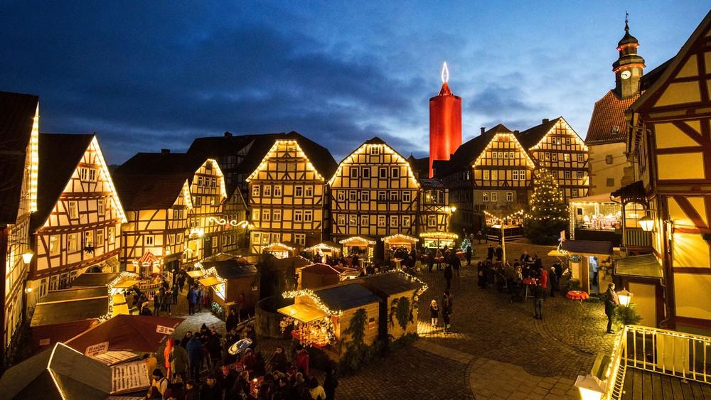 Bester Weihnachtsmarkt In Deutschland.Die Schönsten Weihnachtsmärkte In Hessen Ffh De